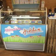 Our ice cream cabinet packed with flavours